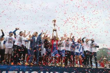 BORAC U LIGI ŠAMPIONA Veliko slavlje na banjalučkom stadionu (FOTO, VIDEO)