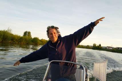 Odao počast žrtvama Jasenovca: Branko (74) otplovio sa Sane od Prijedora do Beograda (FOTO)