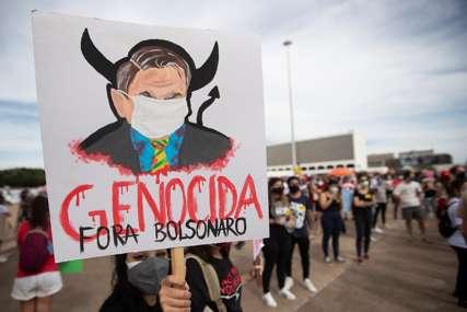 Skoro 460.000 ljudi umrlo tokom pandemije: Na desetine hiljada Brazilaca traži opoziv Bolsonara (FOTO)