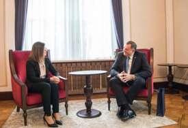"""Dodik razgovarao sa slovenačkom ambasadorkom """"Postoji potencijal za unapređenje saradnje sa Slovenijom"""""""