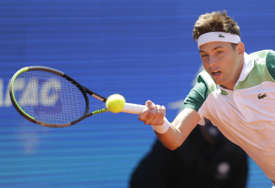 PORAZ KRAJINOVIĆA Srpski teniser eliminisan u Rimu