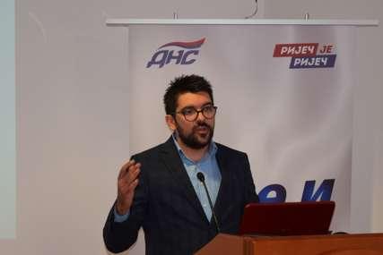 Gavrilo Кerkez izabran za predsjednika Organizacije mladih DNS Banjaluka