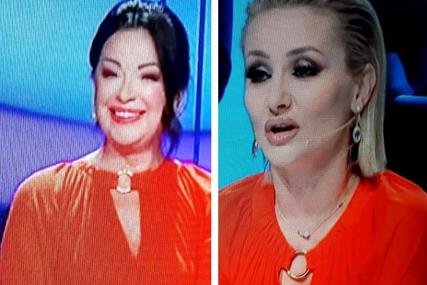 POJAVILE SE U IDENTIČNOJ HALJINI Goca Tržan i Dragana Katić nisu mogle da vjeruju kada su se vidjele na snimanju