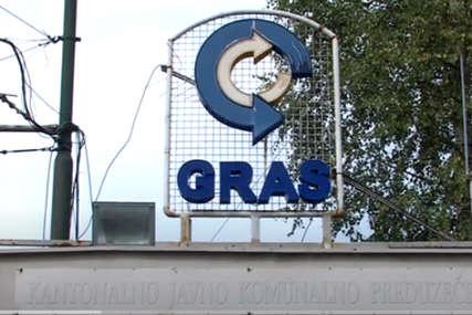 TRAŽE ISPLATE PLATA Grupa radnika GRAS od jutros štrajkuje glađu u Sarajevu