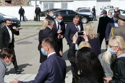 Dodik nakon sastanka sa Vučićem: Zahvalan sam Srbiji za svu vrstu pomoći Republici Sprskoj, kao i Drvaru