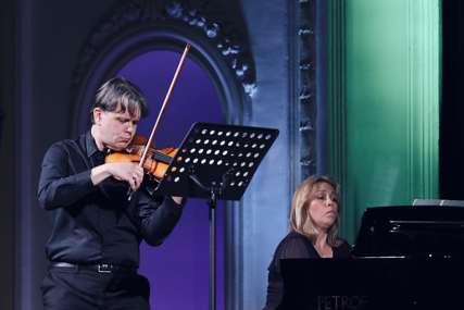 Koncert violiniste Marka Josifovskog i pijanistkinje Natalije Mladenović održan u Banskom dvoru