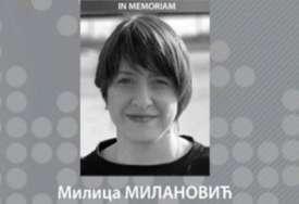 TUGA Preminula novinarka RTS Milica Milanović (37)