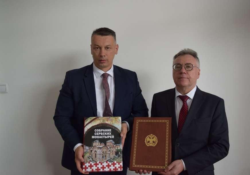 """Nešić ugostio ambasadora Igora Kalabuhova """"Potvrđena privrženost Rusije poštovanju Dejtonskog sporazuma"""""""