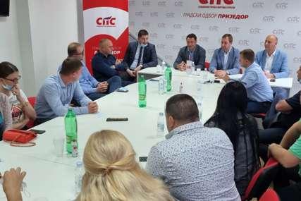 """""""Imamo mlade koji se BORE ZA BUDUĆNOST"""" Selak i Skoko sa članstvom SPS u Prijedoru"""