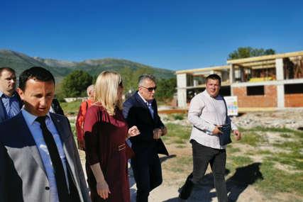 POSJETA TREBINJU Cvijanovićeva obišla radove na izgradnji Dnevnog centra