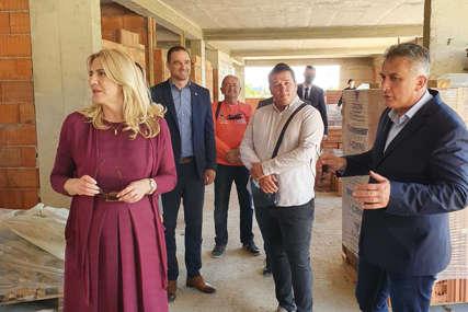 IZGRADNJA DNEVNOG CENTRA Cvijanović: Primjer dobre saradnje institucija
