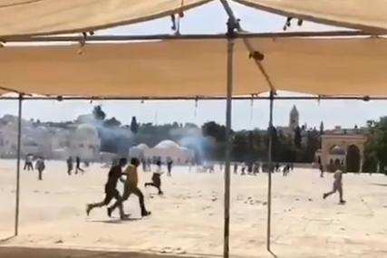 NAZAD NA POČETAK Nekoliko sati od primirja izbili sukobi Izraelaca i Palestinaca u Jerusalimu (VIDEO)