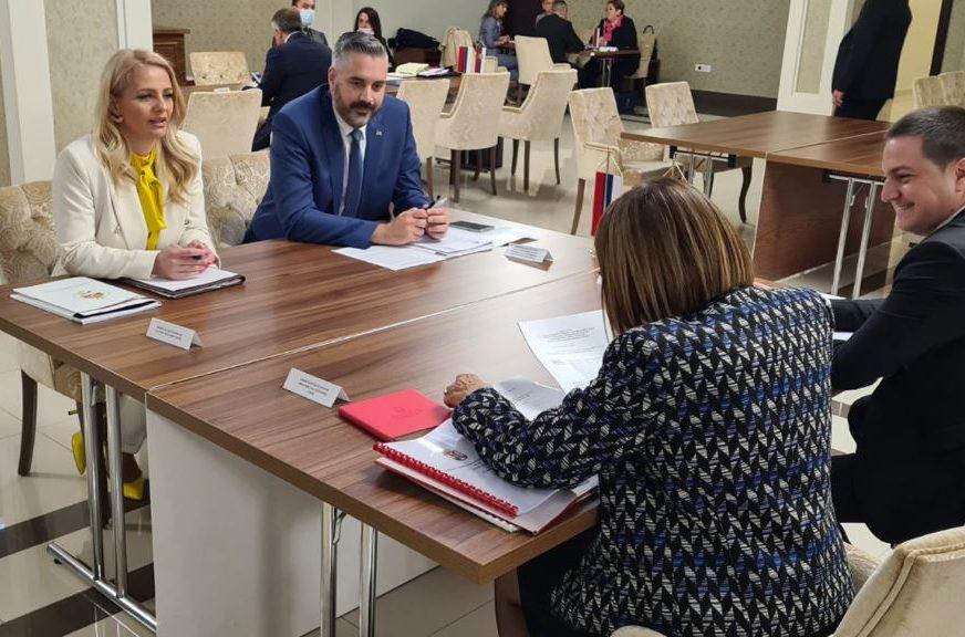 DOGOVORENA BUDUĆA SARADNJA Trivićeva, Ružičić i Gojkovićeva o zajedničkim projektima u oblasti obrazovanja i kulture