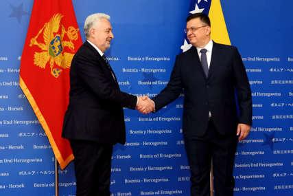 """""""Naši odnosi su bez spornih pitanja"""" Zoran Tegeltija nakon sastanka sa premijerom Crne Gore u Sarajevu"""