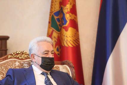 """""""NISAM TASTER-PREMIJER"""" Krivokapić na sjednici Odbora za bezbjednost"""