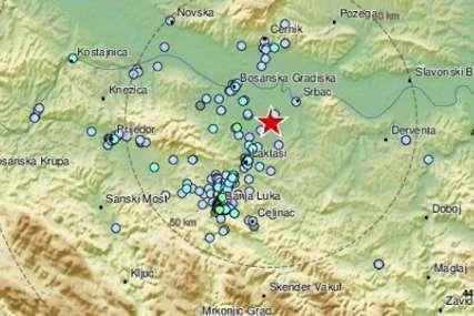 TRESLO SE NEKOLIKO SEKUNDI Banjaluku pogodio zemljotres