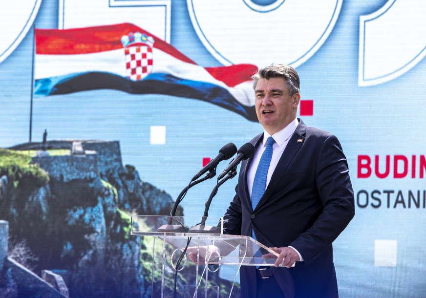 Milanović: Promjene u BiH se ne smiju dogoditi bez Hrvatske i Srbije