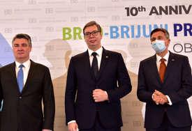 Vučić o sastanku Brdo-Brioni: Prihvatili smo zaključke, oko pitanja PROMJENA GRANICA nema saglasnosti