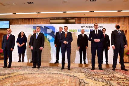 STIGLA I DELEGACIJA IZ BiH Pahor i Milanović dočekali učesnike sastanka lidera Brdo-Brioni