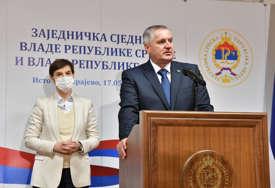 ODRŽANA SJEDNICA VLADA Višković i Brnabićeva najavili projekte vrijedne više od 1,6 milijardi KM