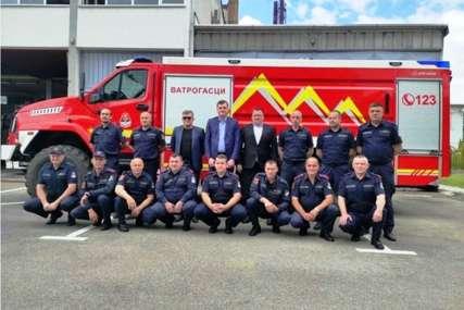BOGATIJI VOZNI PARK Vatrogasna jedinica Brod dobila novo vozilo vrijedno više od 400.000 KM
