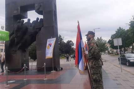 """""""Ne smijemo zaboraviti one koju su za Srpsku DALI ŽIVOTE"""" Bijeljinski borci obilježili Dan Vojske RS (FOTO)"""