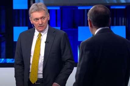 """PESKOV O SUSRETU LIDERA """"Putin i Bajden će razgovarati o Sporazumu o otvorenom nebu"""""""