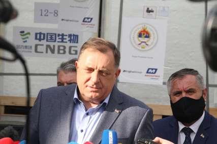 """""""SZO će uskoro da odobri Sinofarm, to me raduje"""" Dodik ističe da su Srpska i njeni predstavnici učinili sve da vakcine budu kupljene"""