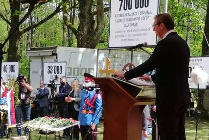 Vučić u Donjoj Gradini: Svijet u kojem je moguće istrijebiti jedan narod, ne smije više da bude moguć