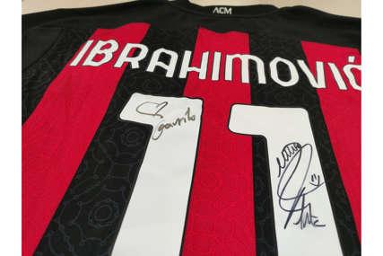 Još jedna svjetska zvijezda poslala Mozzartu dres: Ibrahimović za Gavrilovu pobjedu!