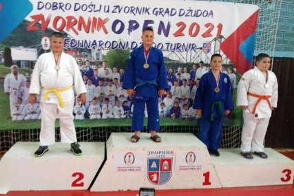 Mladi džudisti donijeli u Sokolac dvije medalje