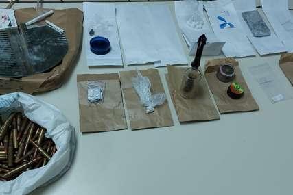 PRETRESI U BIJELJINI Jedna osoba uhapšena, zaplijenjena droga i oružje