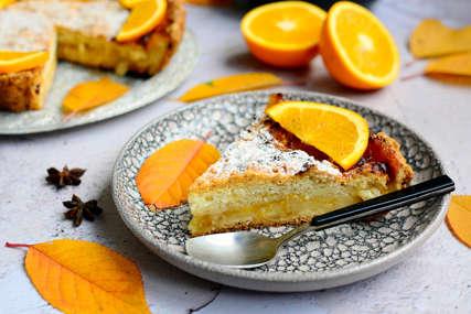 MEKAN I SOČAN Kolač sa narandžom od samo pet sastojaka