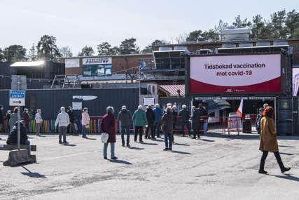 PAD BROJA ZARAŽENIH Popušta pandemija u Švedskoj