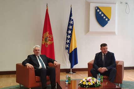 SASTAO SE SA TEGELTIJOM Krivokapić započeo posjetu u Sarajevu