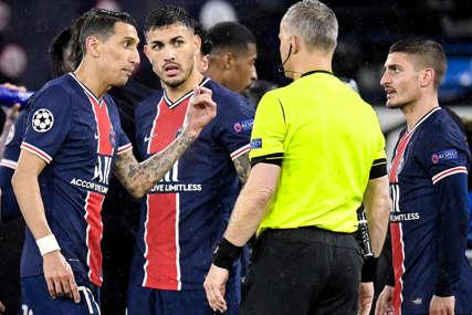 TEŠKE OPTUŽBE Fudbaleri PSŽ tvrde da ih je sudija vrijeđao