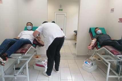 PRIKUPLJENO ŠEST DOZA Medijski radnici darivali krv u Trebinju