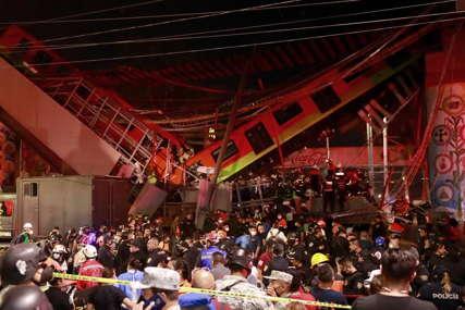 TEŠKA NESREĆA Najmanje 13 poginulih u rušenju nadvožnjaka za metro