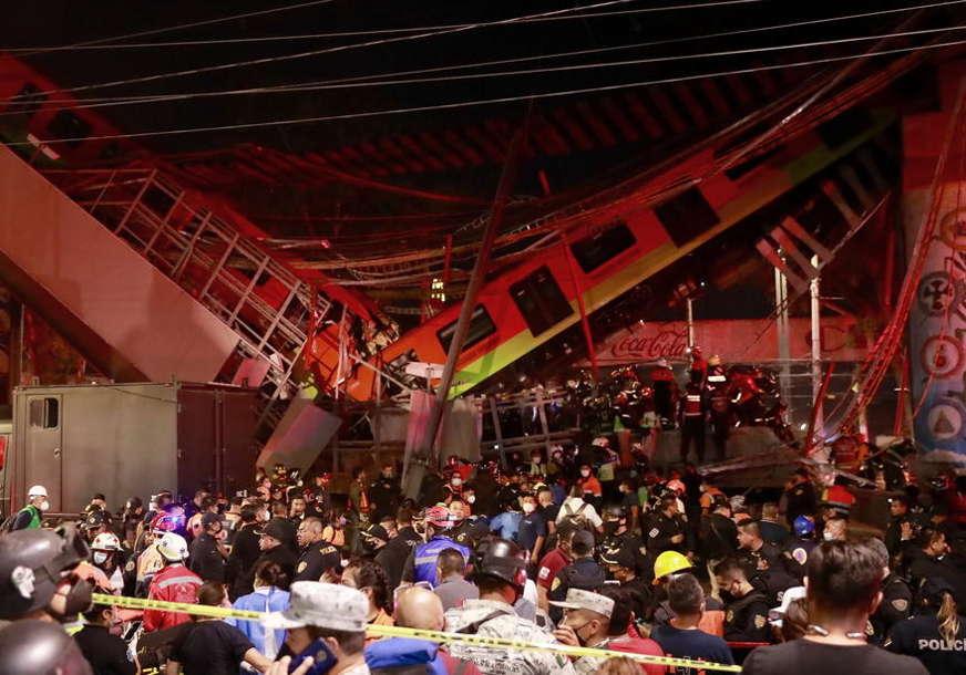 Nakon stravične TRAGEDIJE U MEKSIKU: Vlasti obećavaju detaljnu istragu o rušenju nadvožnjaka metroa