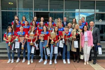 PRIJEM ZA ŽRK BORAC Ministarstvo će nagraditi klubove šampione