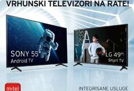 TV svijet zabave i mašte: Ostvarite popust ili izaberite neki od vrhunskih uređaja na rate u M:tel-u