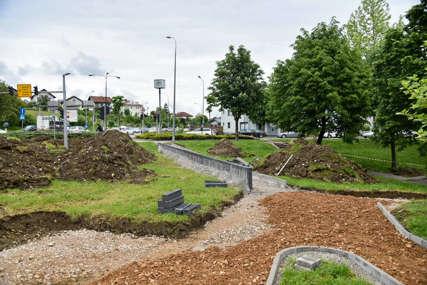 """""""Ovaj park je posvećen porodici"""" Počeli radovi na novom parku u Rosuljama"""