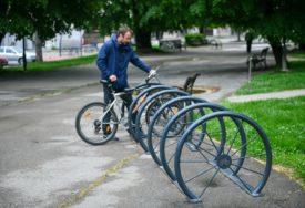 U cilju bolje infrastrukture: Postavljeni novi parkinzi za bicikle