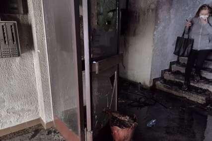 """""""Komšija je stajao na prozoru i molio da mu PRVO SPASIMO PSA"""" Stanarka ispričala dramatične detalje velikog požara u zgradi"""