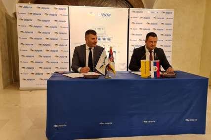 Nove usluge i brže povezivanje građana i privrede: Pošte Srpske i Srbije potpisale Protokol o strateškoj saradnji