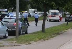 DRAMA U BANJALUCI Migrant bježao od policije, pa ga udarilo auto (FOTO)