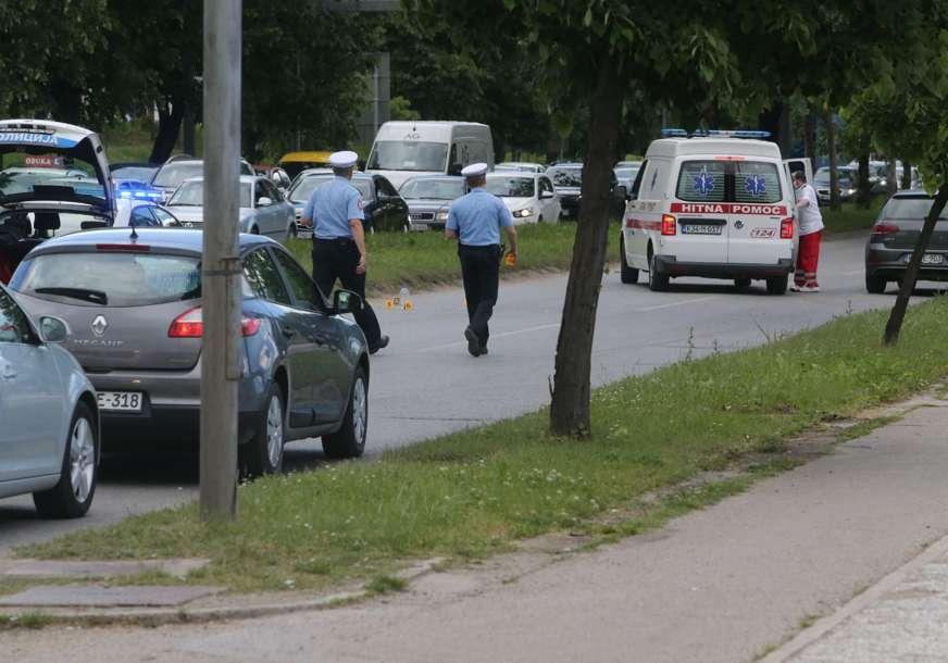 DRAMA U BANJALUCI Migrant bježao od policije, pa ga udario auto (FOTO)