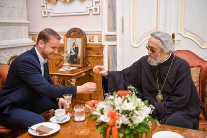 """""""Razgovarali smo o temama važnim za Crkvu i Grad"""" Stanivuković se sastao sa  vladikom Jefremom  (FOTO)"""