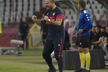 Stanković zadovoljan pobjedom u Subotici: Moglo je biti više golova, sačuvali smo nešto za utorak