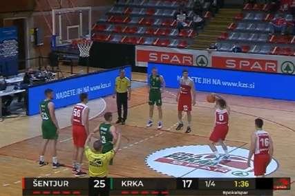 ŠUT O KOJEM SE PRIČA Slovenački košarkaš šokirao svijet (VIDEO)